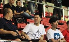 Đình Trọng, Văn Đức 'thân mật' với thầy Park, 'ngắm giò' đàn em U22 Việt Nam