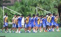 Hà Nội FC sẵn sàng cho trận đấu với 'ĐTQG Turkmenistan thu nhỏ'