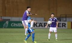 HLV trưởng Hà Nội FC hết lời khen Đức Huy sau trận đấu với Altyn Asyr