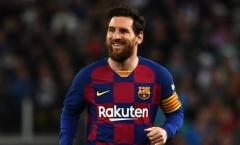 Messi và những thống kê tấn công khủng khiếp mùa 2019/20