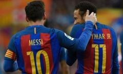 SỐC: Barca giả vờ theo đuổi Neymar chỉ để Messi vui lòng