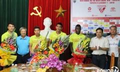 FLC Thanh Hóa ra mắt 4 bản hợp đồng mới lượt về V-League 2016