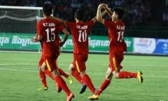 U16 Đông Nam Á: Hạ chủ nhà Campuchia, Việt Nam tái ngộ Australia ở chung kết