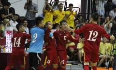 Giao hữu Futsal: Việt Nam cưa điểm 3-3 Futsal Ai Cập