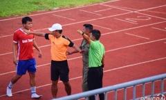 Thua tức tưởi trận play off, cầu thủ Bình Thuận 'phun châu nhả ngọc' vào bóng đá Việt Nam