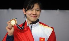 Ánh Viên tiết lộ lý do chưa thể giành 'hat-trick vàng' cho Thể thao Việt Nam