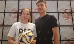 Đức 'cọt' - Sao U23 Việt Nam bình dị trong lòng Fan tại quán trà sữa