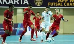 Thua chủ nhà Indonesia 1-3, ĐT Việt Nam HCĐ futsal AFF 2018