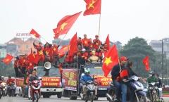 Trực tiếp sân Mỹ Đình: 'Biển người' đổ về Mỹ Đình chờ nâng Cup cùng ĐT Việt Nam