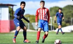 U15 Thái Lan suýt tạo cơn 'địa chấn' trước đội trẻ Atletico Madrid