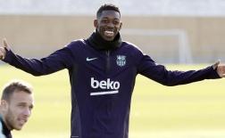 Dàn sao Barca tươi rói sau khi bắt trúng lá thăm mang tên Lyon