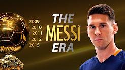 Hành trình chinh phục 5 danh hiệu QBV của Messi