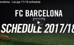 Full lịch thi đấu của Barca ở La Liga mùa sau