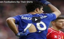 Các cầu thủ làm gì khi bị xé rách áo trên sân?
