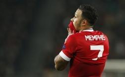 Depay thuở còn tung hoành ở Man Utd