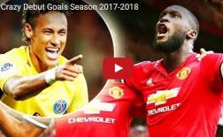 10 bàn ra mắt ấn tượng nhất đầu mùa 2017/18