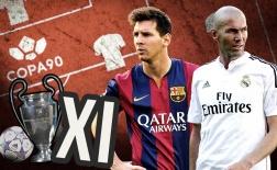 Siêu đội hình trong lịch sử Champions League