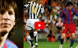 Lionel Messi rê bóng giỏi như thế nào ở tuổi 18?