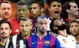 Những trung vệ xuất sắc nhất thế giới hiện tại