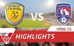 CLB TP Hồ Chí Minh 2-4 Than Quảng Ninh (Vòng 25 V-League 2017)