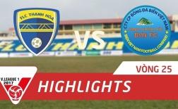 FLC Thanh Hóa 2-0 Sanna Khánh Hòa BVN (Vòng 25 V-League 2017)