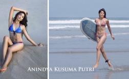 Khó cưỡng lại body phồn thực của Hoa hậu Indonesia