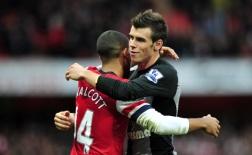 Đọ tài tốc độ Gareth Bale và Theo Walcott