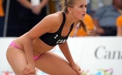 Taylor Pischke - Hot girl làng bóng chuyền bãi biển