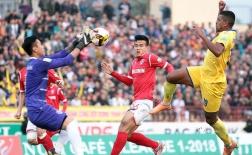 Sông Lam Nghệ An 2-2 Than Quảng Ninh (Vòng 3 V-League 2018)