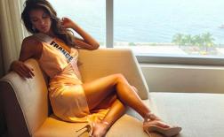 Vẻ đẹp kiêu sa của WAGs hoa hậu Pháp