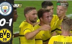 Highlights: Man City 0-1 Dortmund (Giao hữu quốc tế)