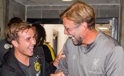Jurgen Klopp 'mồi chài' Mario Gotze trong ngày tái ngộ Dortmund