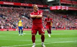 Vui chưa lâu, Shaqiri đã khiến CĐV Liverpool phải hoang mang