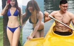 """Vẻ xuân thì """"mỡ màng"""" của bạn gái thủ thành Đặng Văn Lâm"""