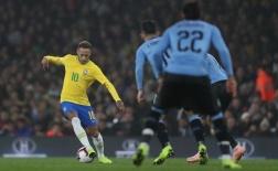 Highlights: Brazil 1-0 Uruguay (Giao hữu)