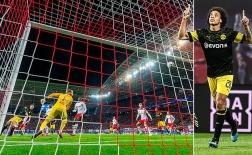 Mục tiêu của M.U tỏa sáng, Dortmund tái lập khoảng cách với Bayern