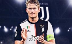 De Ligt - Chào mừng đến đội hình toàn 'soái ca' của Juventus
