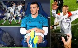Đoạt 13 danh hiệu, 'ăn đứt' cả Zidane - Bale có bị Real đối xử quá tệ so với Beckham?
