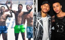 Neymar và 'đoàn tùy tùng' hào nhoáng, sang chảnh kề bên