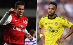 Đội hình xuất sắc nhất Arsenal một thập kỷ qua: Van Persie 'in', Aubameyang 'out'