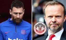 Được khuyên mua Messi, và đây là phản ứng của Ed Woodward