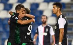 Ban bật như Barca, Sassuolo khiến hàng thủ Juventus 'thót tim'