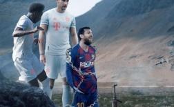 Cười vỡ bụng với loạt ảnh chế Bayern vùi dập Barca