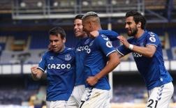 James Rodriguez lập siêu phẩm đẹp mắt, Everton đè bẹp đối thủ 5 bàn