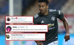 CĐV Man Utd: 'Bán Pereira và James trước rồi hãy nghĩ đến cậu ta'