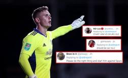CĐV Man Utd: 'Ole hãy cho cậu ấy ra sân trận gặp Tottenham đi'