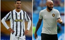 Từ Ronaldo đến Henry: 10 danh thủ bừng sáng khi đổi vị trí thi đấu