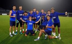 Không có Messi, dàn sao Barca lại vui vẻ đến khó tin trên đất Nhật Bản