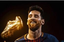 CHÍNH THỨC: Đoạt giày vàng, Messi sánh ngang Ronaldo