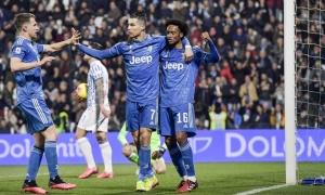 Juan Cuadrado: 'Tôi đã nhìn thấy Ronaldo sẵn sàng ghi bàn trong tình huống đó'
